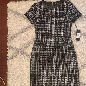NWT Karl Lagerfeld Houndstooth Dress